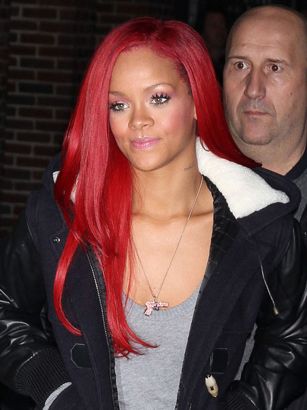 Rihanna in Rihanna At The 'Late Show With David Letterman'