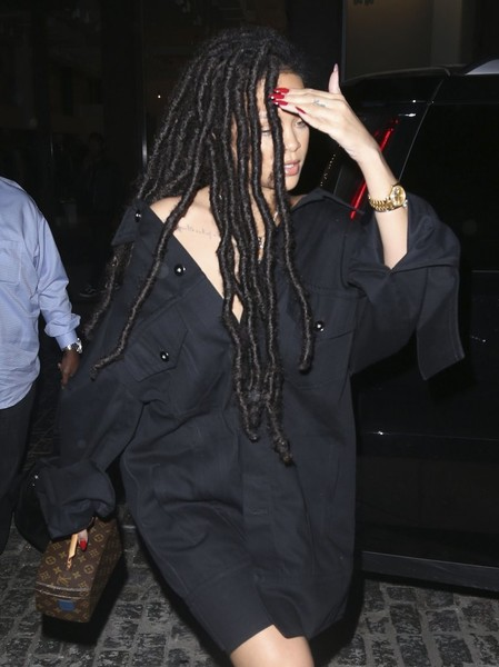 Rihanna Dreadlocks