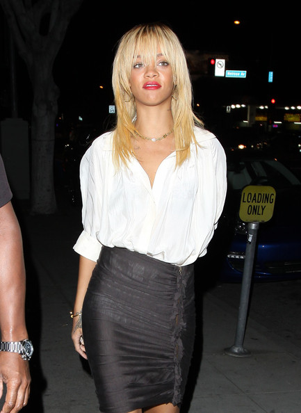 Rihanna Loose Blouse