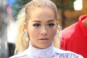 Rita Ora Pearl Drop Earrings