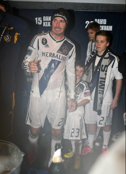 David Beckham Says Good-bye To The MLS With A Victory!