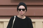 Rooney Mara Square Sunglasses