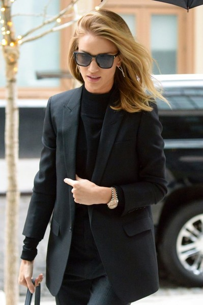 Rosie Huntington-Whiteley Gold Quartz Watch