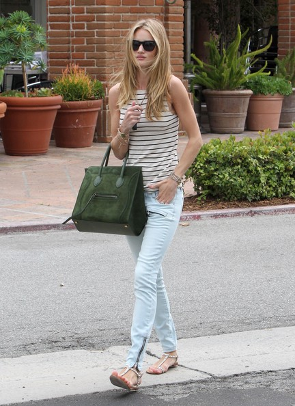 Rosie Huntington-Whiteley Flat Sandals