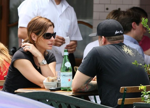 ***FILE PHOTOS*** Sandra Bullock & Jesse James Spending Time Together In New York