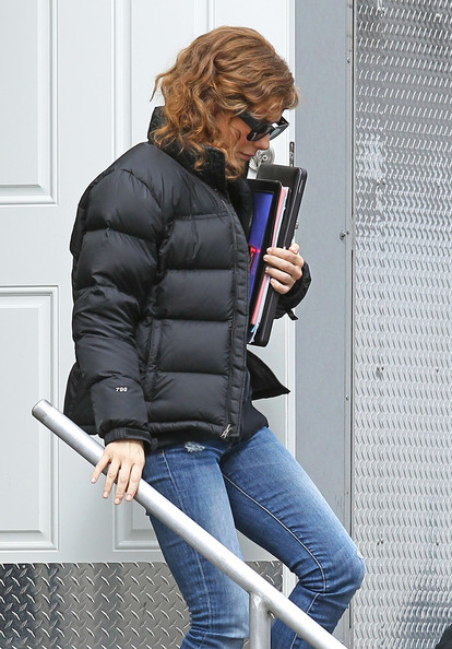 Sandra Bullock Down Jacket