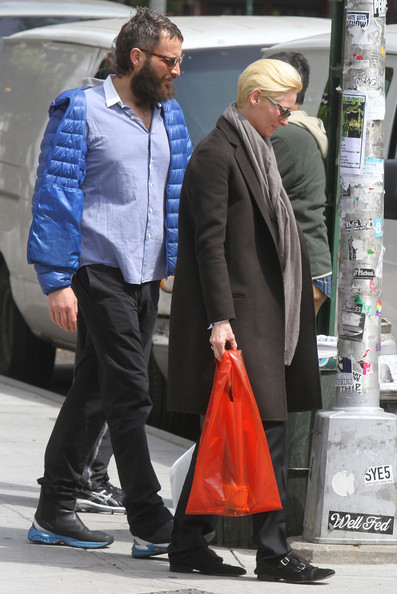 Tilda Swinton Steps Out With Bearded Sandro Kopp