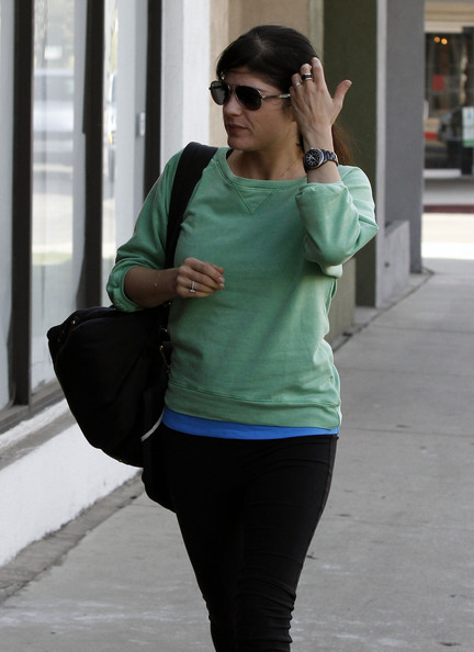 More Pics of Selma Blair Crewneck Sweater (1 of 28) - Selma Blair Lookbook - StyleBistro