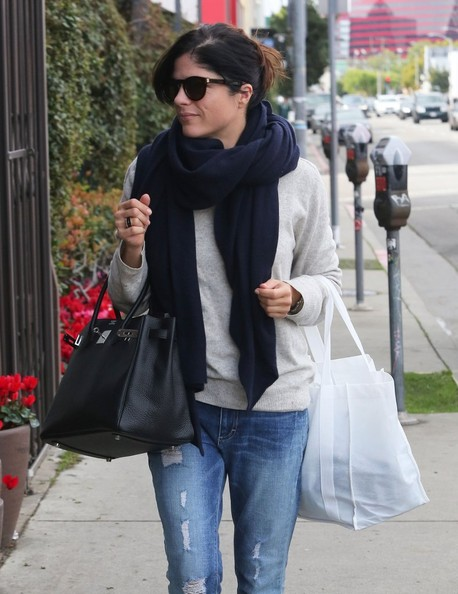 More Pics of Selma Blair Ripped Jeans (8 of 14) - Jeans Lookbook -  StyleBistro 20cf46a0c432b