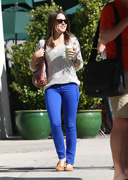Sophia Bush doesn't sacrifice comfort for style, which is why we love this cozy-chic knitted sweater!