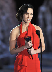 Megan Fox infused her updo with 1950s glamour at the Scream 2009 awards.