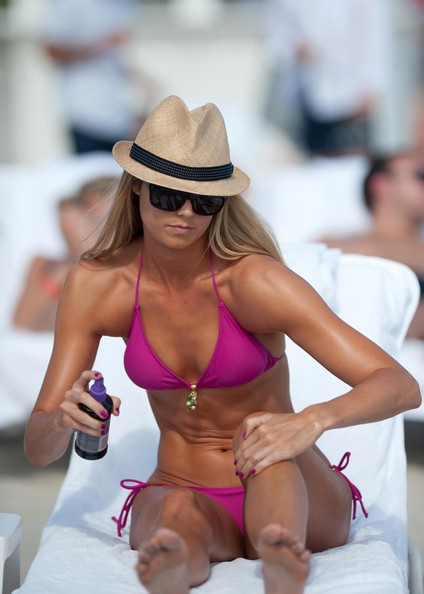 Stacy Keibler Hats