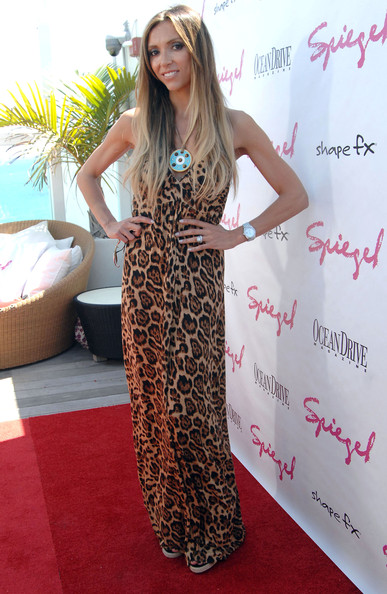 More Pics of Giuliana Rancic Print Dress (1 of 6) - Giuliana Rancic Lookbook - StyleBistro