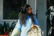 Taraji P. Henson Leather Tote