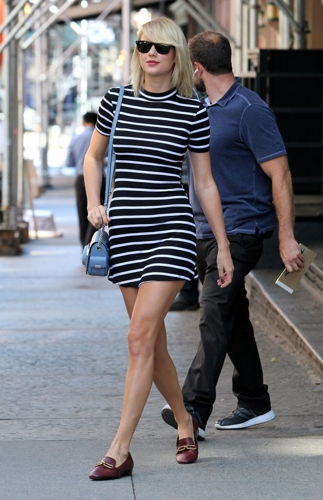 Taylor Swift Mini Dress Taylor Swift Looks Stylebistro
