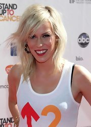 Natasha Bedingfield wore a pair of deep cranberry lipstick while attending the 2012 Stand Up to Cancer event.