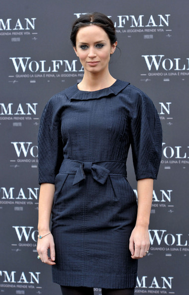 More Pics of Emily Blunt Classic Bun (1 of 12) - Emily Blunt Lookbook - StyleBistro