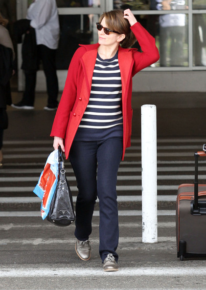 More Pics of Tina Fey Flat Oxfords (1 of 12) - Tina Fey Lookbook - StyleBistro