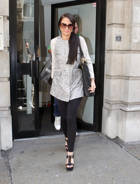 More Pics of Tulisa Contostavlos Ponytail (1 of 11) - Tulisa Contostavlos Lookbook - StyleBistro