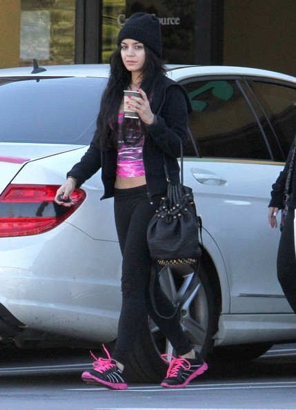 Vanessa Hudgens Running Shoes