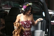 Vanessa Hudgens Strappy Sandals