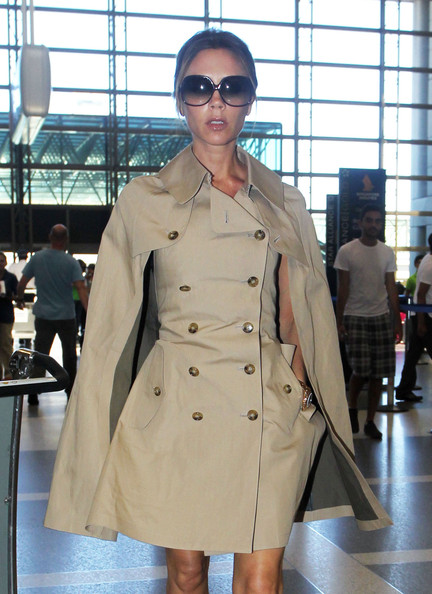 More Pics of Victoria Beckham Trenchcoat (2 of 8) - Victoria Beckham Lookbook - StyleBistro