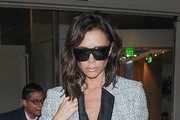 Victoria Beckham Designer Shield Sunglasses