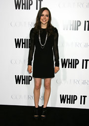 Ankle boots are all the rage this Fall, and Ellen looks stunning in these black 'Cavat Boots' by Rachel Comey.