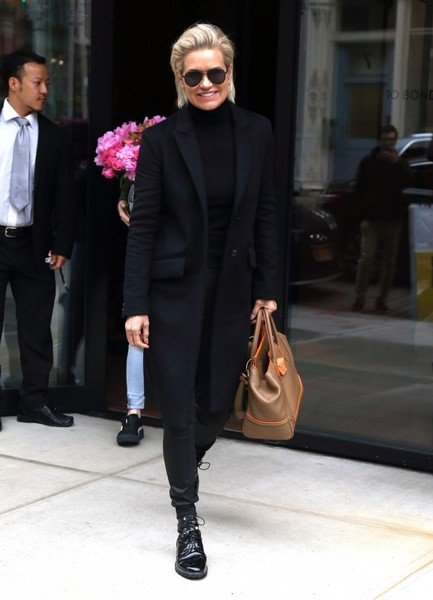 Yolanda Hadid Wool Coat