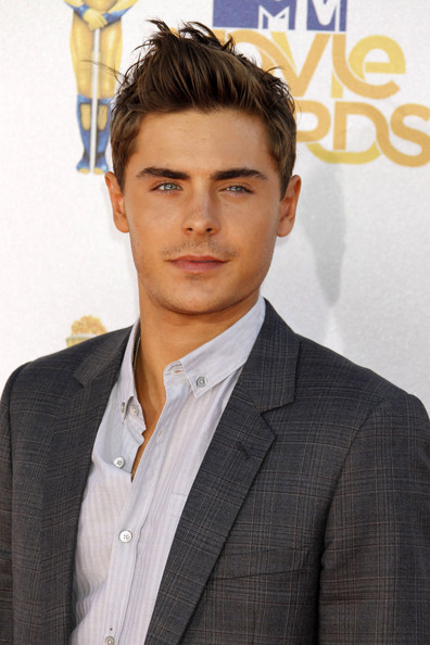 Zac Efron Spiked Hair