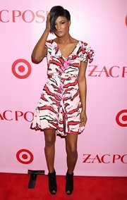 Cecily Lopez showed off the latest design from Zac Posen for his highly anticipated Target line.