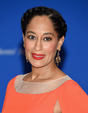 Tracee Ellis Ross was boho-glam wearing this braided updo at the White House Correspondents' Association Dinner.
