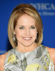 Katie Couric looked retro wearing this bob with a teased crown at the White House Correspondents' Association Dinner.