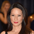 Lucy Liu's Feathery Waves