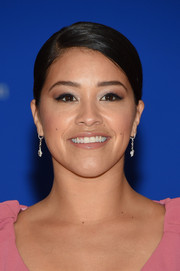 Gina Rodriguez kept it low-key yet elegant with this side-parted bun at the White House Correspondents' Association Dinner.