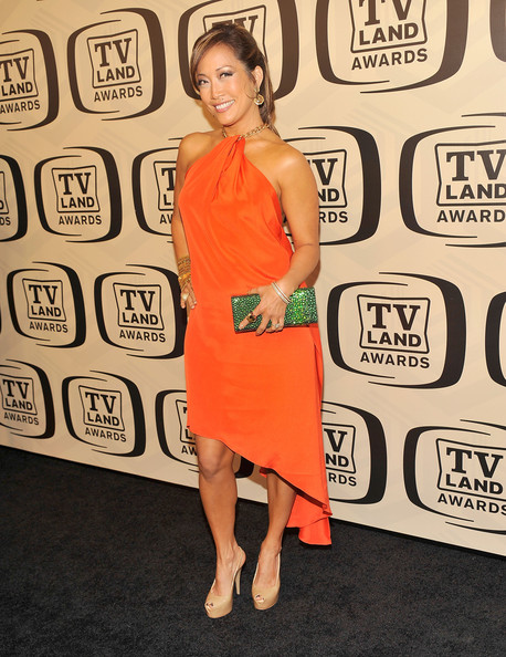 More Pics of Carrie Ann Inaba Ponytail (1 of 5) - Carrie Ann Inaba Lookbook - StyleBistro