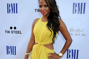 Singer Christina Milian arrives at the 11th Annual BMI Urban Awards on August 26, 2011 in Los Angeles, California.