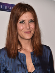 Kate Walsh opted for a casual straight 'do when she attended the Global Women's Rights Awards.