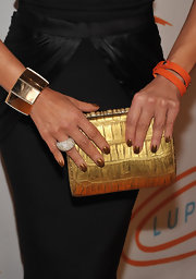 Paula Abdul wore a Bridge bracelet to the 11th Annual Lupus LA Orange Ball which worked perfectly with her clutch.