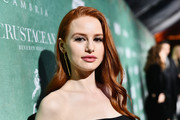 Madelaine Petsch wore a gently wavy hairstyle at the Women in Film pre-Oscar party.