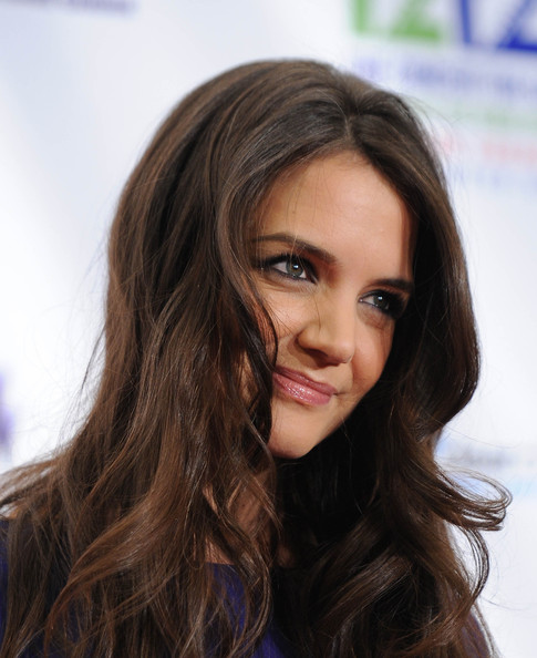 More Pics of Katie Holmes Long Curls (1 of 9) - Katie Holmes Lookbook - StyleBistro