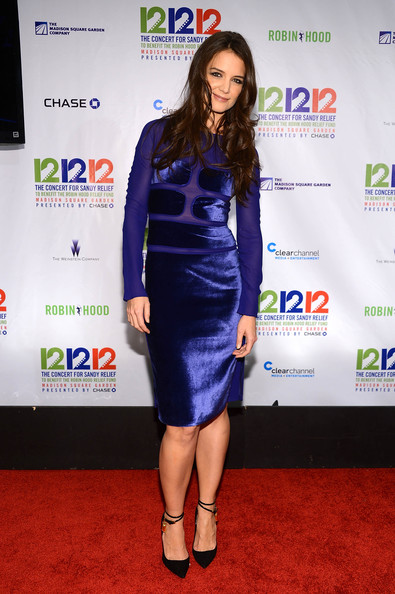 More Pics of Katie Holmes Cocktail Dress (4 of 9) - Katie Holmes Lookbook - StyleBistro