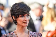Paz Vega attended the Cannes Film Festival screening of '120 Beats Per Minute' wearing her signature emo bangs.