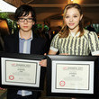 Asa Butterfield and Chloe Grace Moretz