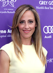Kim Raver chose a sleek and straight 'do for her look at the Chrysalis Butterfly Ball.