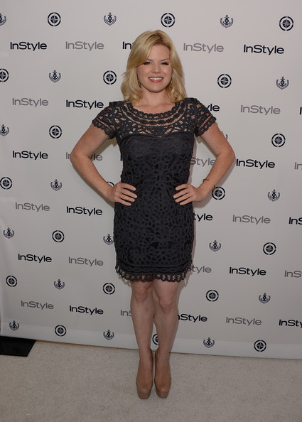 More Pics of Megan Hilty Lipgloss (1 of 4) - Megan Hilty Lookbook - StyleBistro