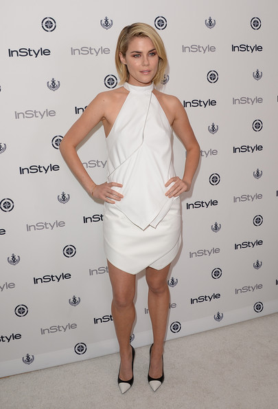 More Pics of Rachael Taylor Halter Dress (1 of 9) - Halter Dress Lookbook - StyleBistro
