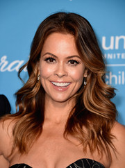 Brooke Burke-Charvet topped off her look with a glamorous wavy 'do when she attended the UNICEF Snowflake Ball.