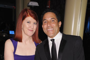 Kate Flannery and Oscar Nunez Photo