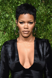 Teyana Taylor worked a cool pixie at the CFDA/Vogue Fashion Fund Awards.